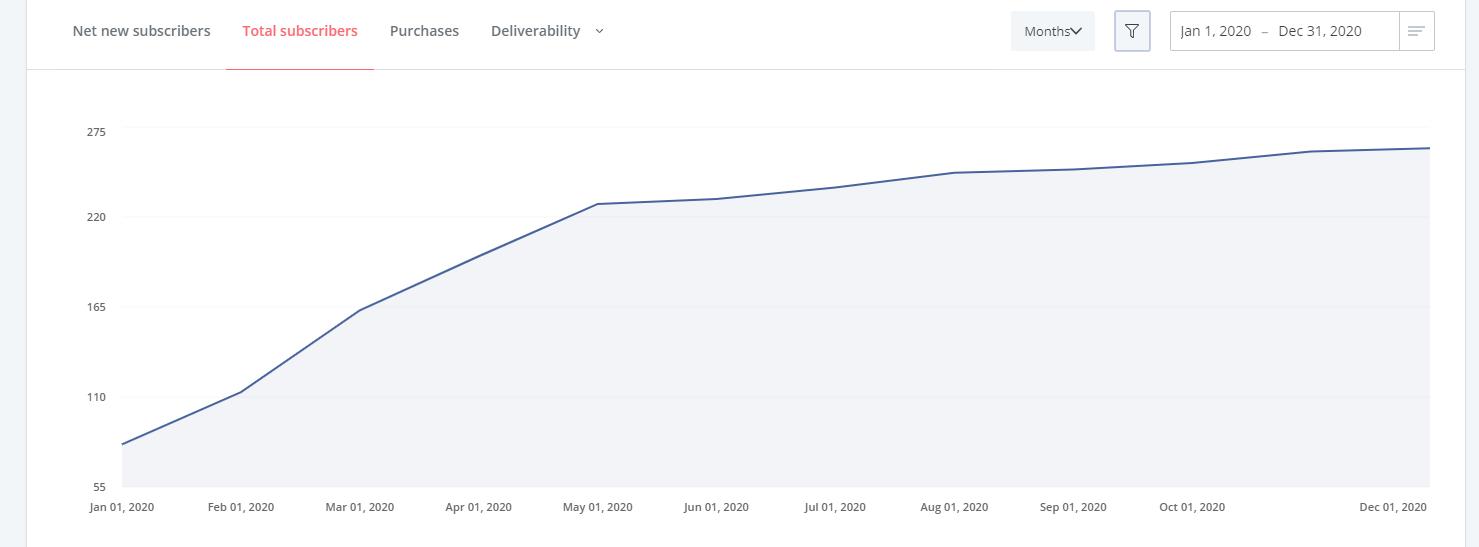 Blog Income Report - Quarter 4 2020 - ERA Email Subscribers